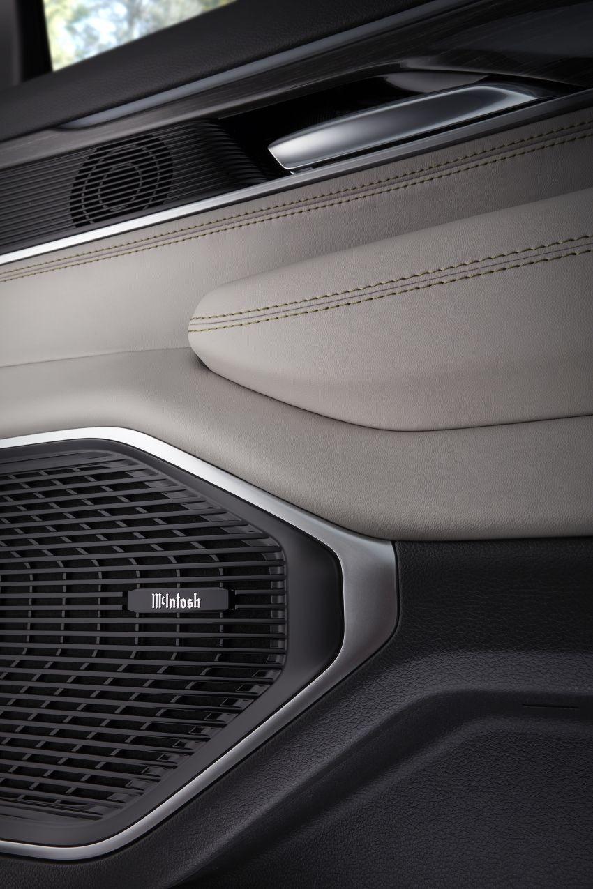 Cả Jeep Wagoneer và Grand Wagoneer 2022 đều dùng hệ thống âm thanh McIntosh