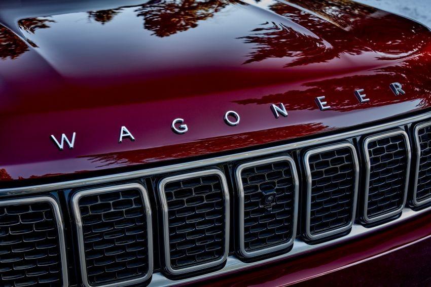 Lưới tản nhiệt của Jeep Wagoneer 2022