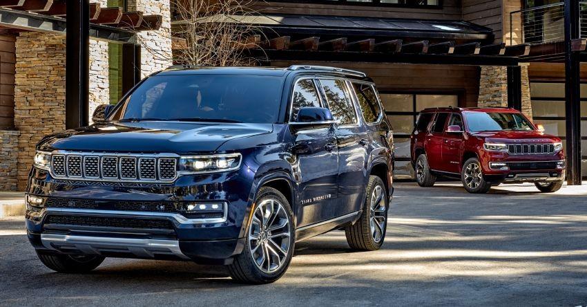 Jeep Wagoneer 2022 trình làng tại thị trường Mỹ