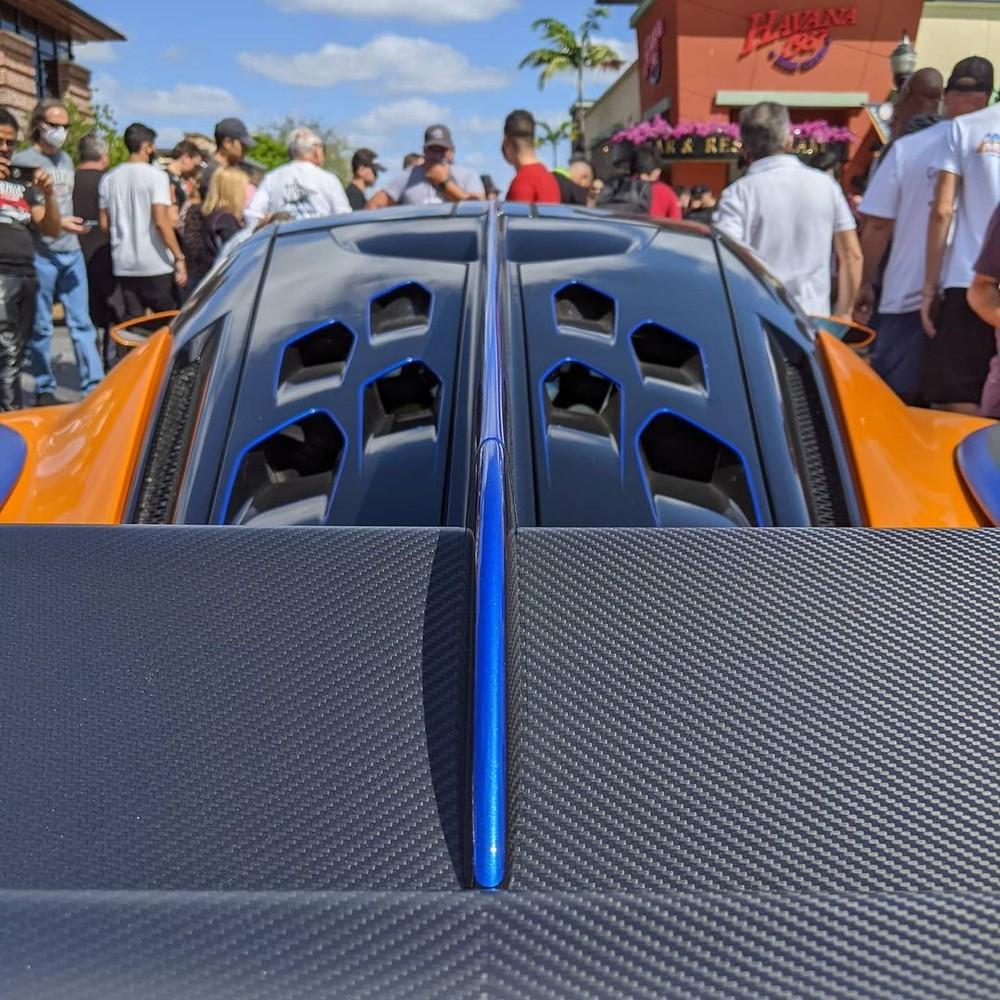 McLaren Sabre lúc mới ra mắt là chiếc McLaren mạnh nhất