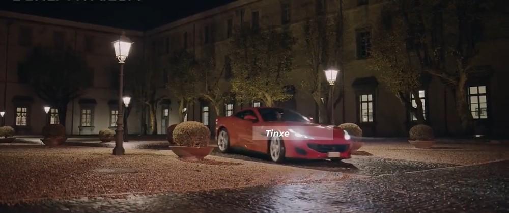 Chiếc siêu xe Ferrari Portofino màu đỏ rực trong tập đầu tiên của bộ phim mafia Vincenzo