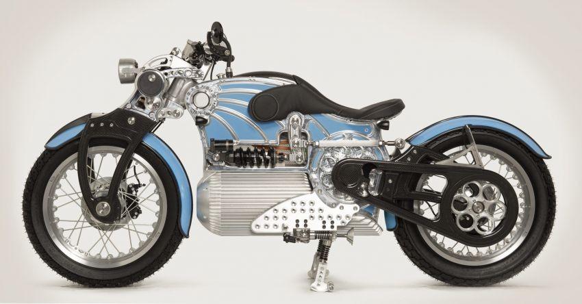 Xe mô tô điện Curtiss One