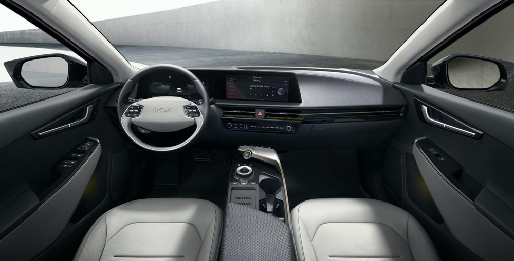 Nội thất bên trong Kia EV6