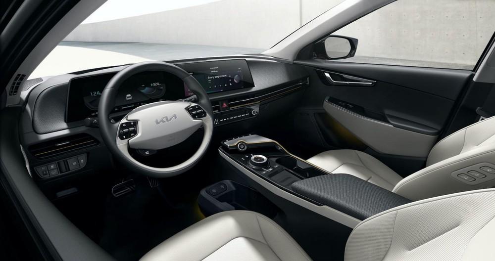 Kia EV6 sở hữu nội thất trông khá cao cấp