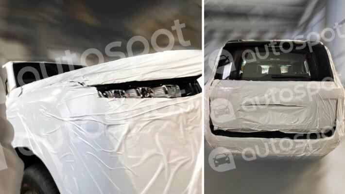Hình ảnh rò rỉ của Toyota Land Cruiser thế hệ mới