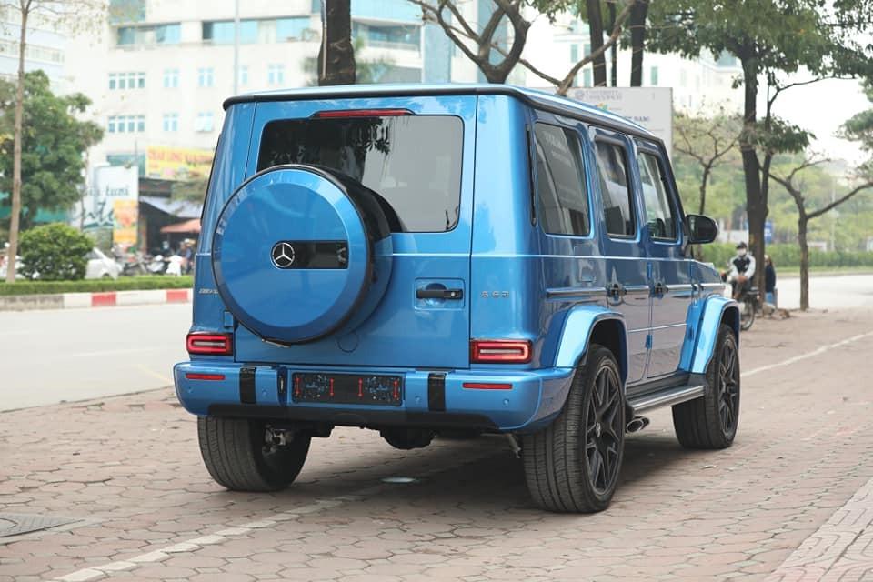 Số lượng xe Mercedes-AMG G63 màu xanh dương tại Việt Nam khá hiếm