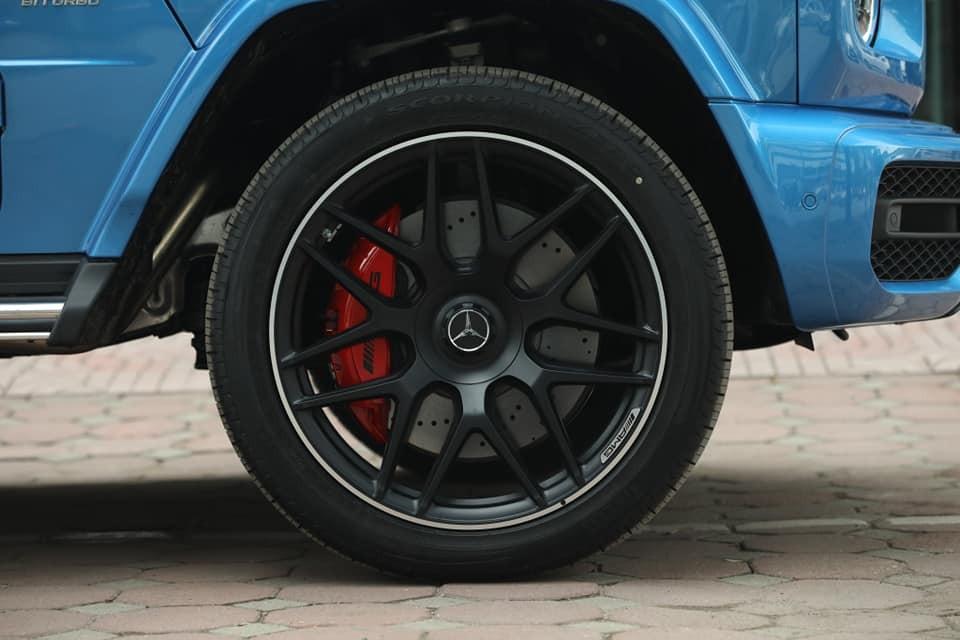 Bộ mâm đa chấu kép sơn đen mờ của phiên bản Mercedes-AMG G63 Edition One