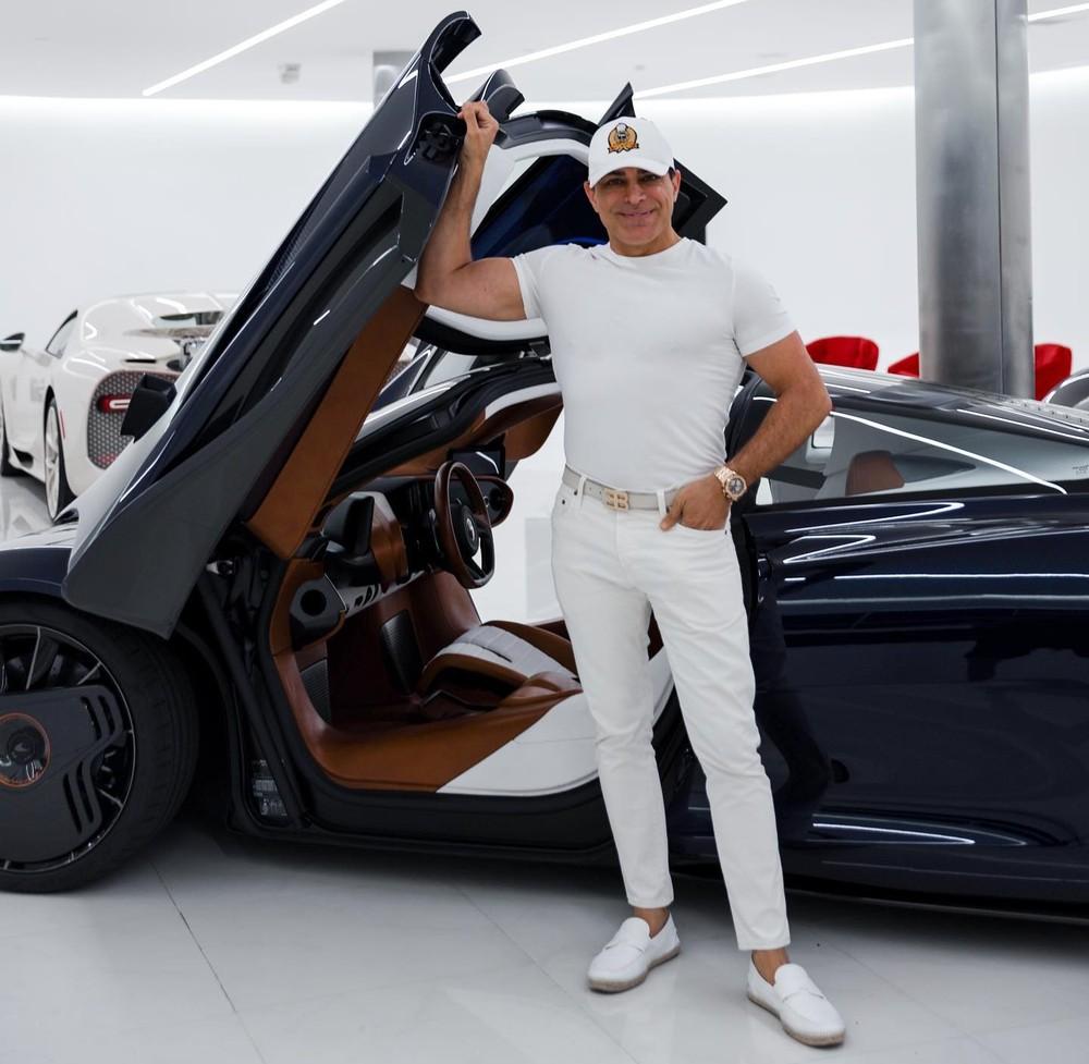 Manny Khoshbin là chủ nhân của McLaren Speedtail Hermes độc nhất thế giới