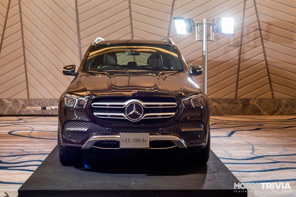 Cận cảnh đầu xe của Mercedes-Benz GLE 350de 4Matic PHEV 2021