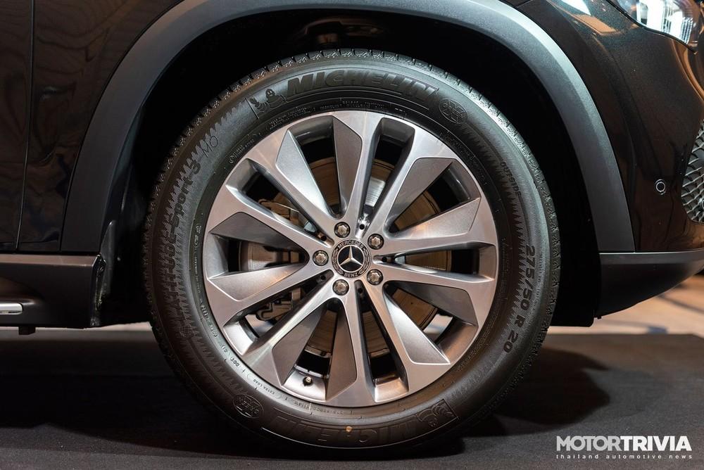 Bộ vành hợp kim 20 inch của Mercedes-Benz GLE 350de 4Matic PHEV 2021