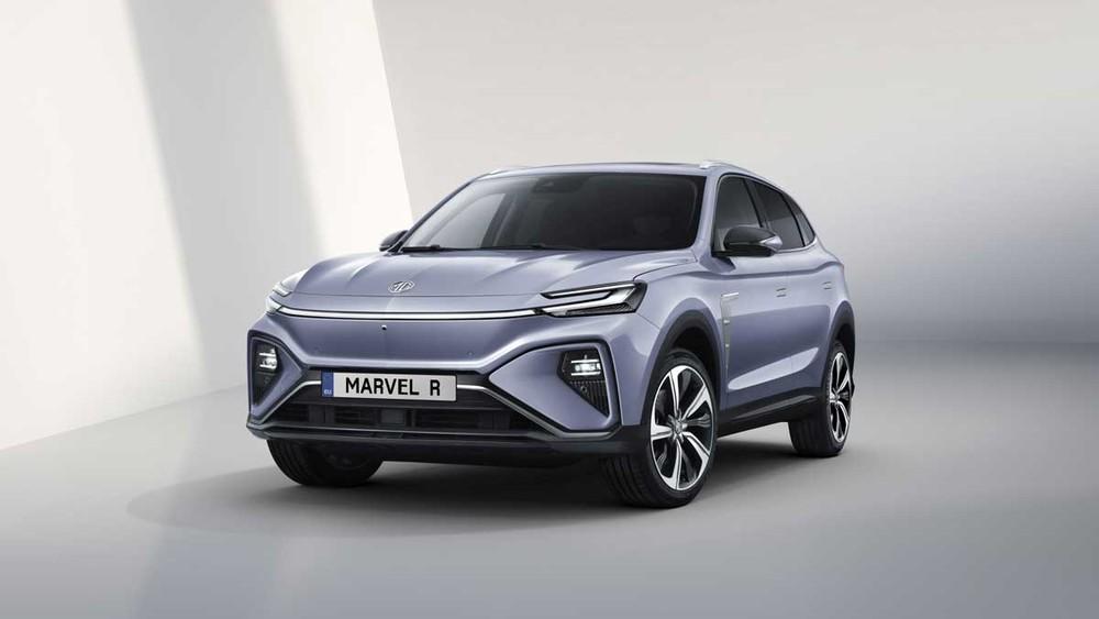 MG Marvel R Electric 2021 được trang bị 3 mô-tơ điện