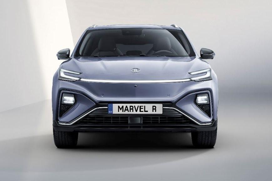 Cận cảnh đầu xe của MG Marvel R Electric 2021