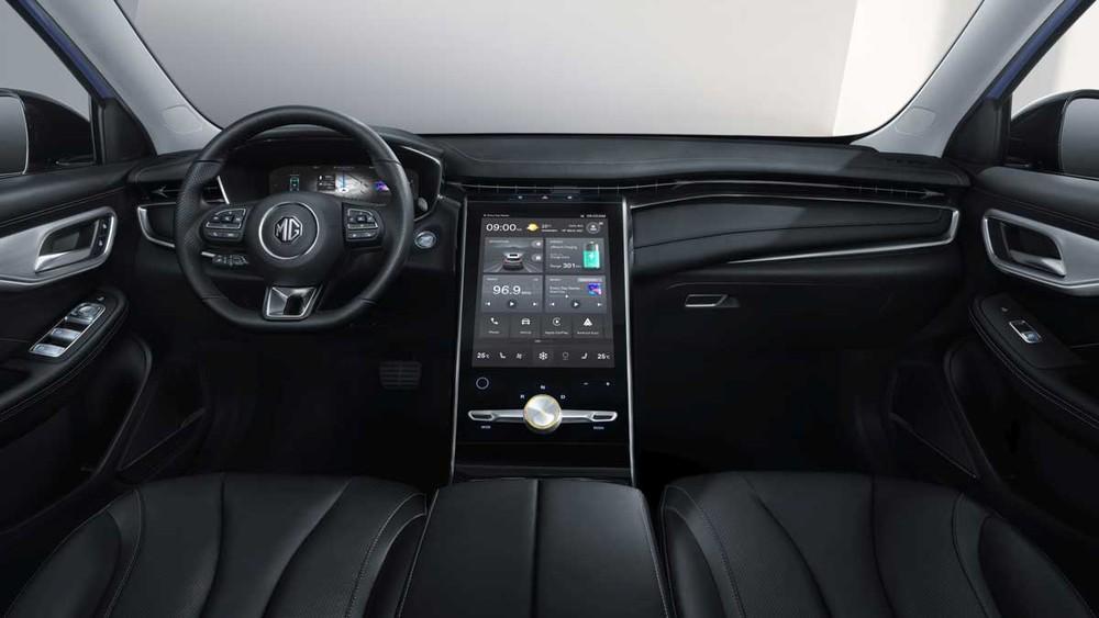 MG Marvel R Electric 2021 có màn hình như Mercedes-Benz S-Class
