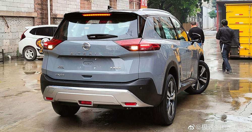 Nissan X-Trail 2021 bị bắt gặp trên đường phố Trung Quốc