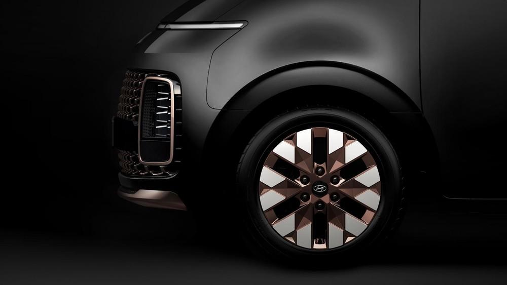 Bộ vành 18 inch của Hyundai Staria