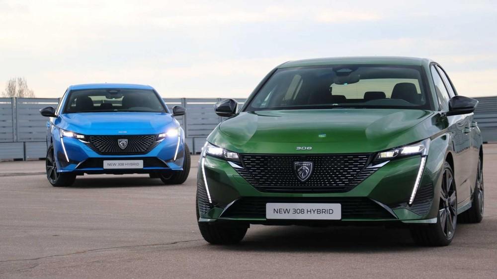 Peugeot 308 2021 ra mắt