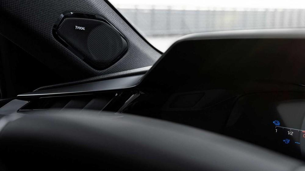 Peugeot 308 2021 dùng loa Focal