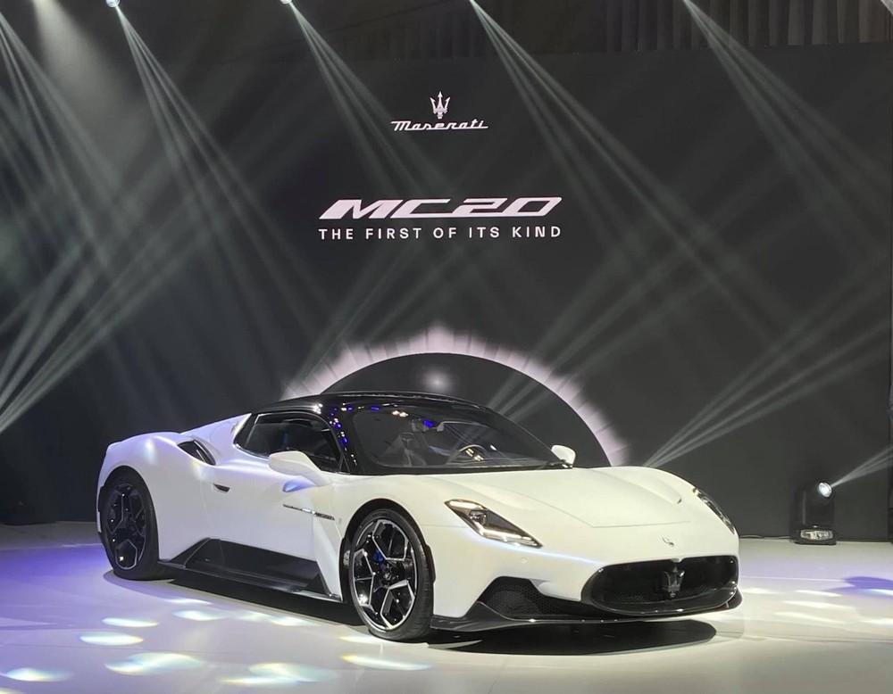 Thái Lan chính là đất nước đầu tiên ở Asean được giới thiệu Maserati MC20