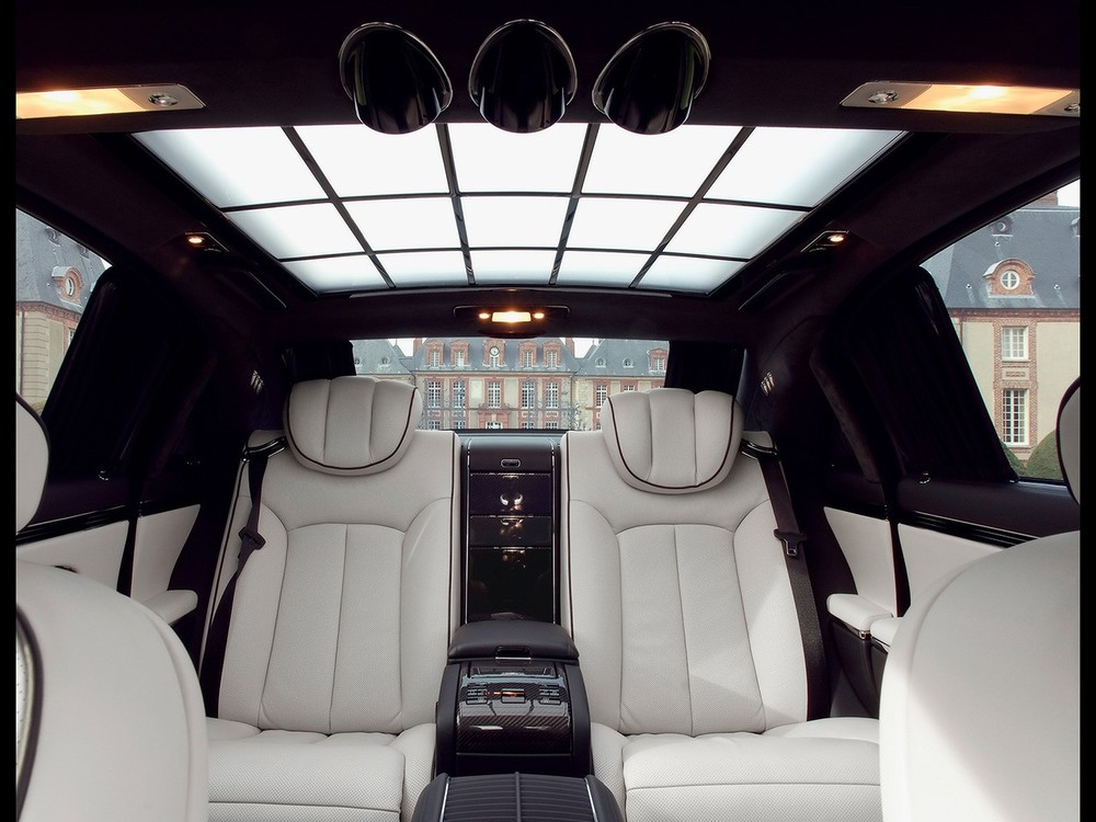 Nội thất 1 chiếc xe Maybach 62S