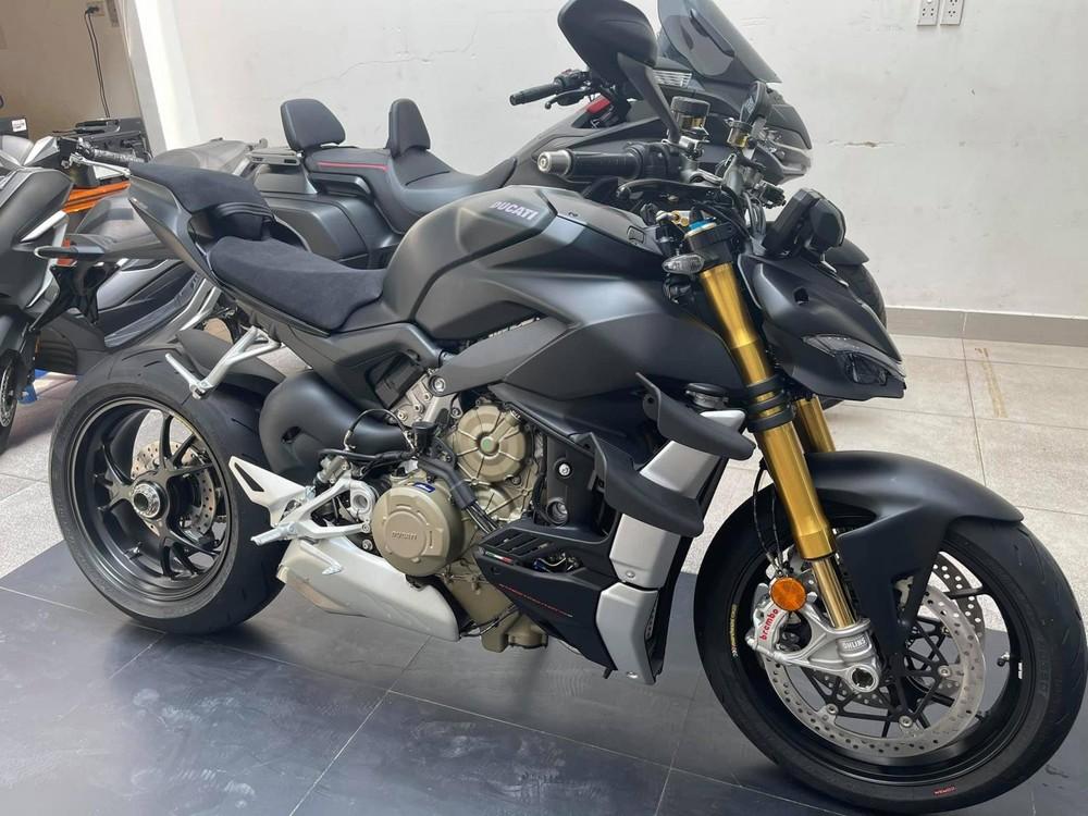 Chiếc xe sở hữu thiết kế đặc biệt của Ducati
