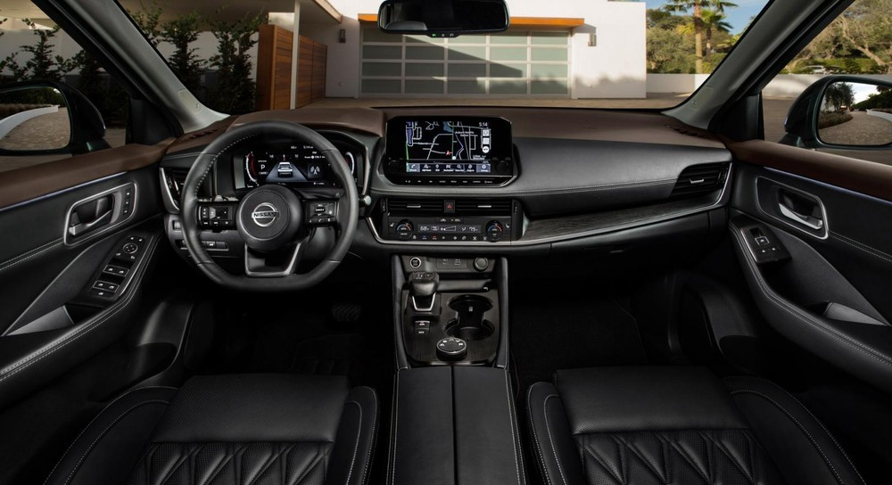 Nội thất bên trong Nissan X-Trail 2021 tại Mỹ