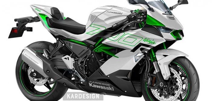 Thiết kế mới được làm tuyệt đẹp trên chiếc Sport bike