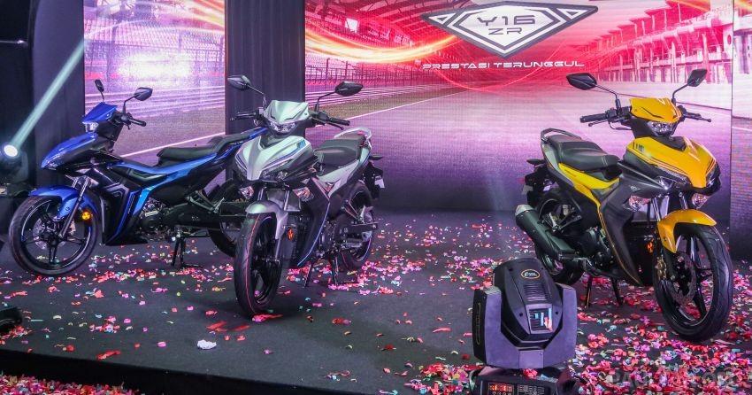 Yamaha Exciter 155 VVA ra mắt tại Malaysia với tên gọi Yamaha Y16ZR 2021