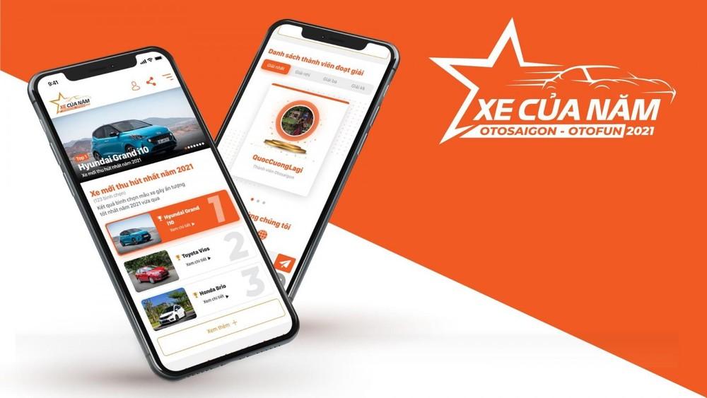 Để khuyến khích người dùng Việt tham gia bình chọn, chương trình có một số quà tặng hấp dẫn như Iphone 12 Pro Max và 1,5 lượng vàng SJC dành cho người may mắn.