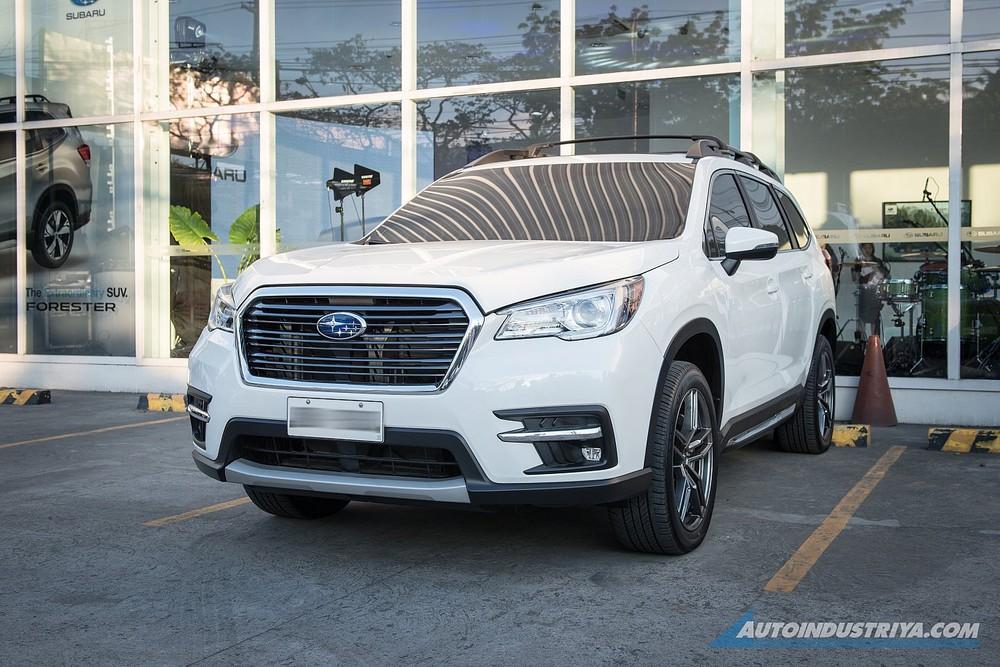 Chiếc Subaru Evoltis 2021 được trưng bày tại Philippines vào năm ngoái