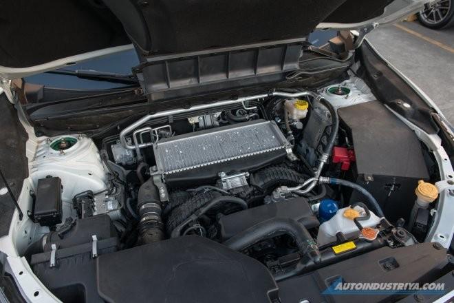 Subaru Evoltis 2021 dùng động cơ xăng Boxer 2.4L