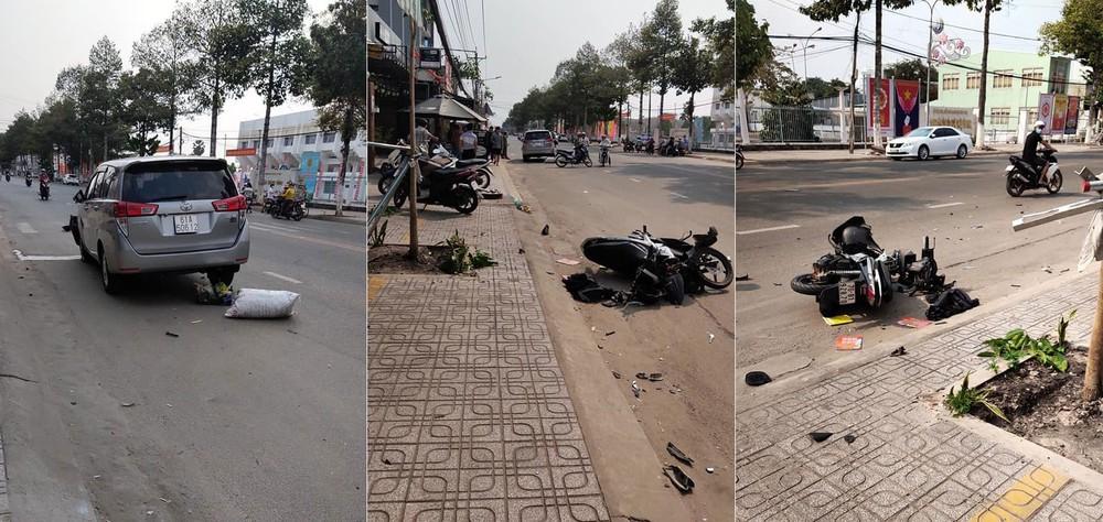 Hiện trường vụ tai nạn nghiêm trọng tại Tây Ninh