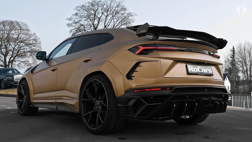 Phía sau củaMansory Lamborghini Urus P820 2021
