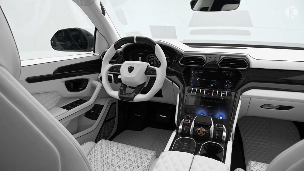 Nội thất củaMansory Lamborghini Urus P820 2021