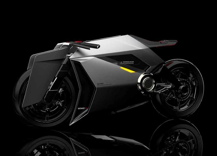Xe mô tô điện có khả năng lọc không khí