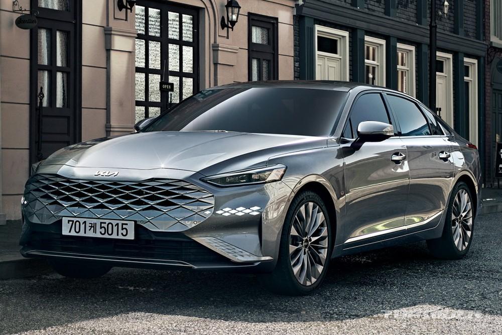 Kia K8 2022 được công bố giá tại Hàn Quốc