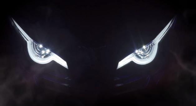 Đoạn video hé lộ xe mới với thiết kế đèn đẹp mắt của Benelli