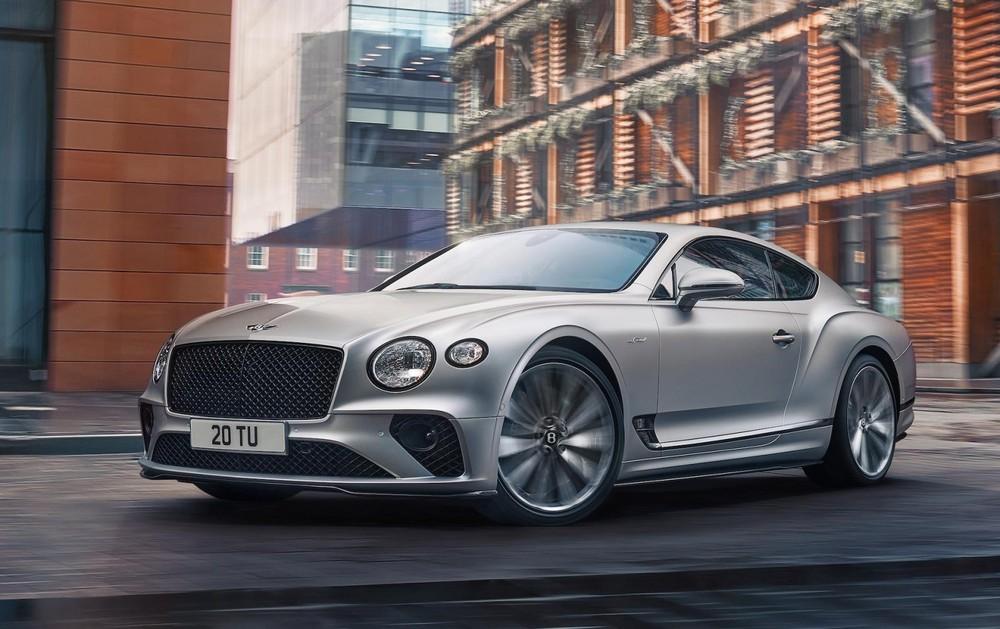 Bentley Continental GT Speed 2021 nhanh và mạnh mẽ