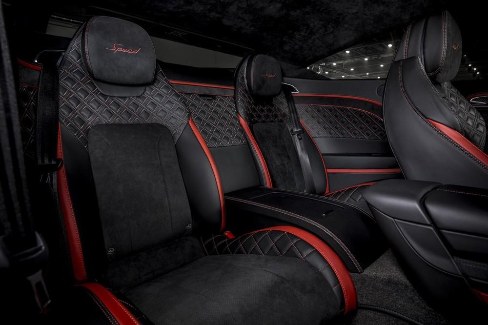 Ghế sau của Bentley Continental GT Speed 2021