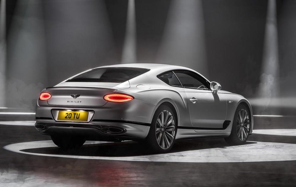 Bentley Continental GT Speed 2021 dùng hộp số tự động ly hợp kép 7 cấp
