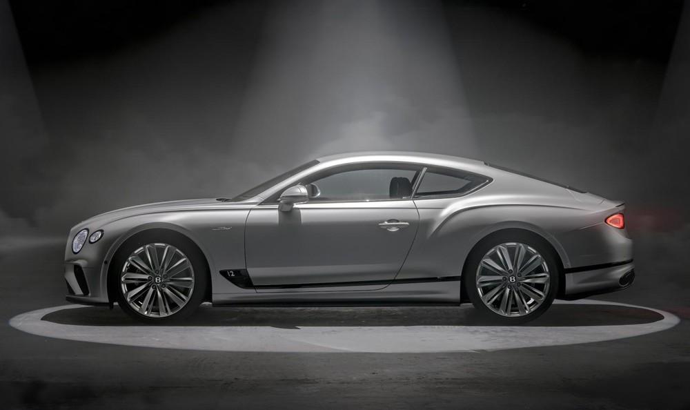 Bentley Continental GT Speed 2021 có 2 công nghệ mới