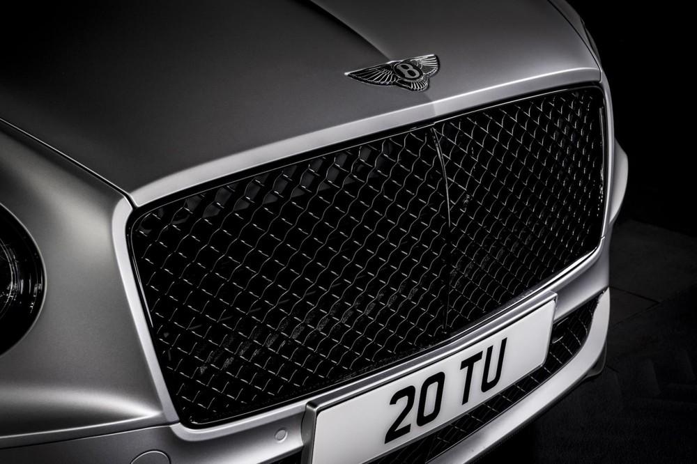 Lưới tản nhiệt của Bentley Continental GT Speed 2021