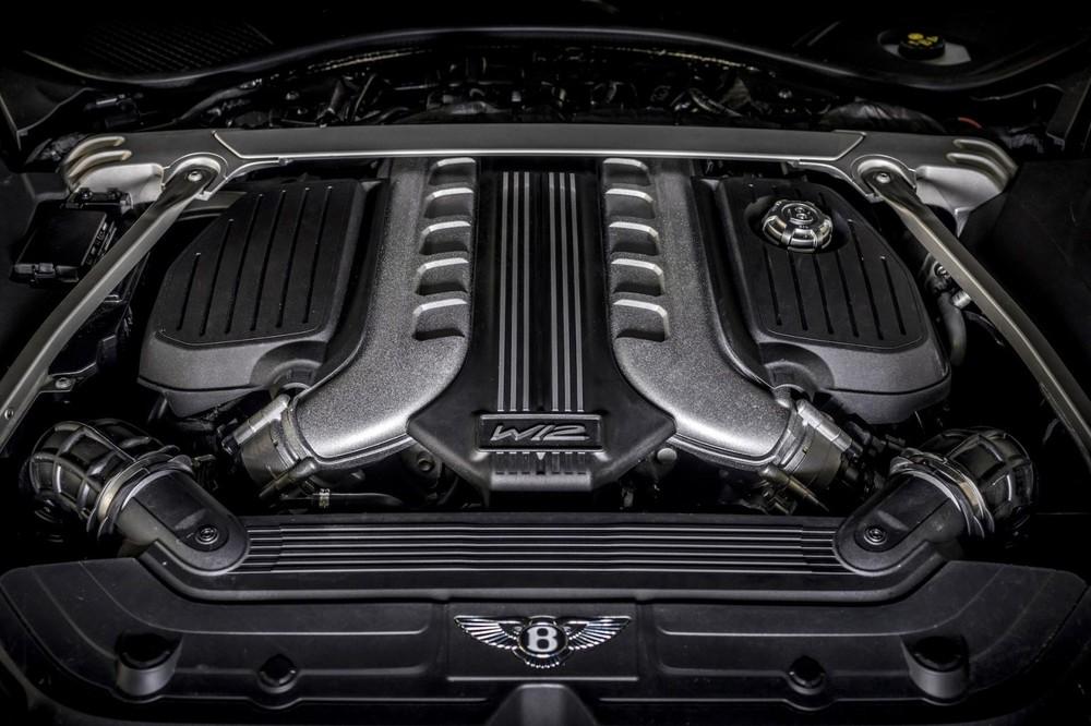 Động cơ của Bentley Continental GT Speed 2021