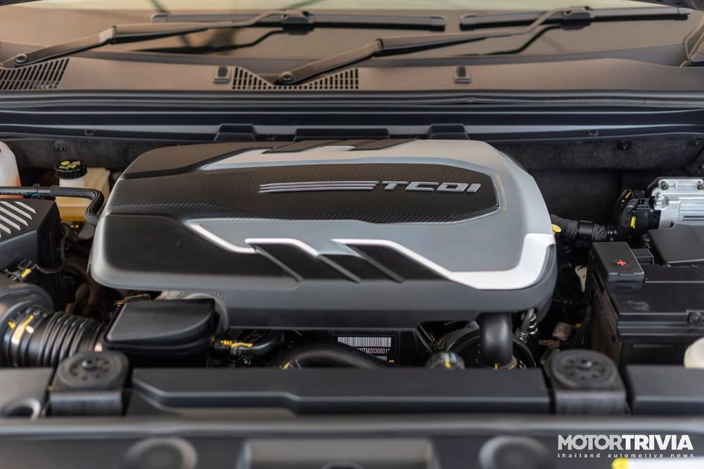 Động cơ của MG Extender 2021
