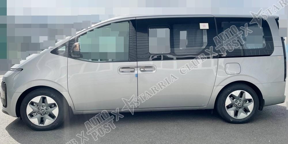 Hyundai Staria 2021 dùng vành có đường kính 17 inch hoặc 18 inch, tùy phiên bản