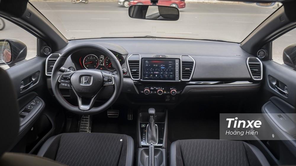 Nội thất của Honda City RS 2021.
