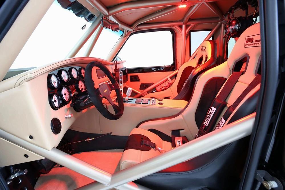 Nội thất củaFord Ranger Luxury Pre-Runner