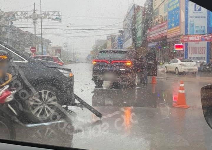 Vụ tai nạn xảy ra lúc trời mưa