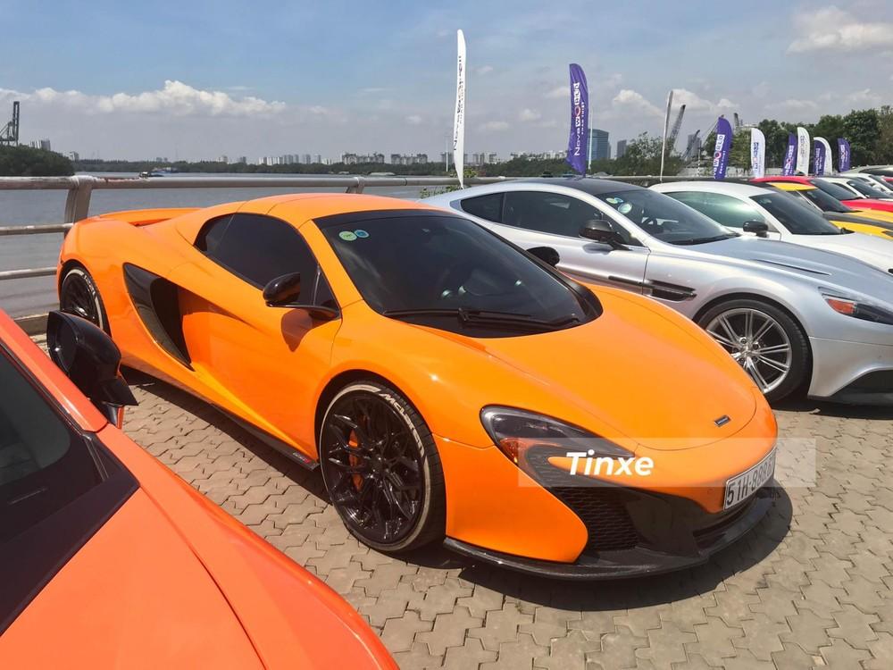 Đây là chiếc McLaren 650S Spider đầu tiên về Việt Nam