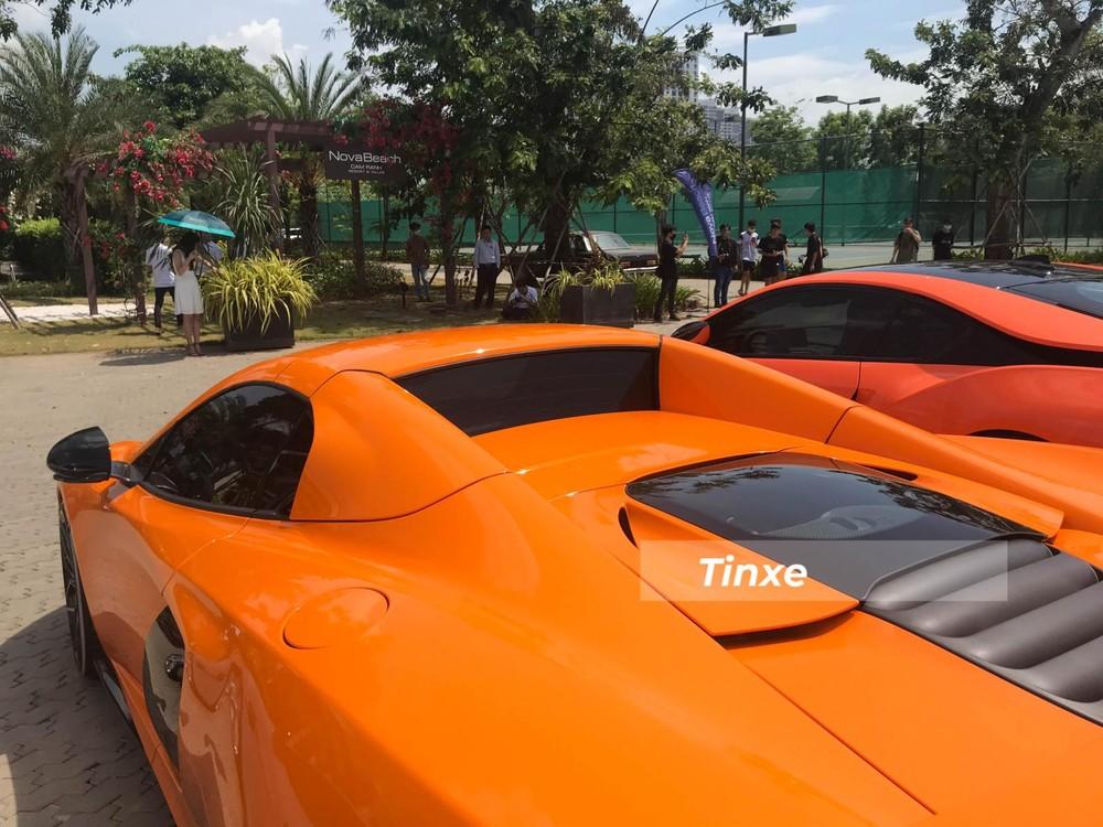 McLaren 650S Spider sở hữu mui xếp cứng