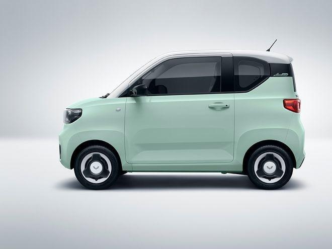 Wuling Hongguang Mini EV Macaron có kích thước nhỏ xinh